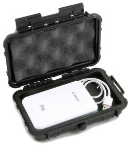 Waterproof Mini Photo Printer Case fits Canon Ivy Printer and Charge Cable