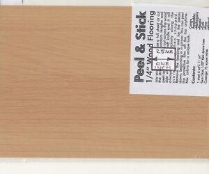 Image Is Loading 034 Oak Peel Amp Stick Plastic Flooring