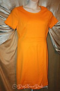 Womens-Size-8-or-10-Short-Sleeve-Dress-by-Premise-Apricot-NEW-Retail-128