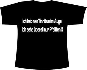 Mallorca-Fun-Shirt-034-Ich-hab-nen-Tinnitus-im-Auge-Ich-seh-ueberall-nur-Pfeiffen-034
