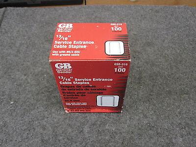 Gardner Biegemaschine 33/40.6cm Klammern Gse-310,2 New Pack 100 Clear-Cut-Textur Sonstige Befestigungsteile & Eisenwaren
