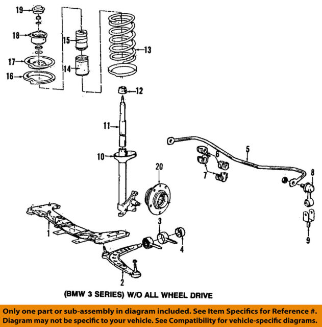 32 Bmw E39 Front Suspension Diagram