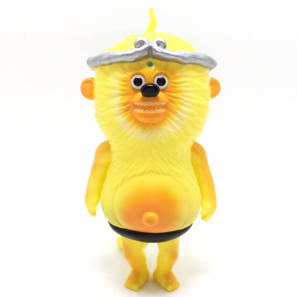 ventas en linea T9G Mancha Mono Rey Amarillo 5    figura sofvi Firmado  nueva gama alta exclusiva