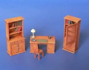 Ensemble meubles de bureau kit résine minimali productions 1 72