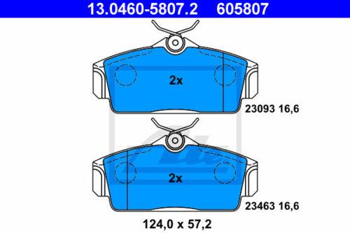 n16 Garnitures Essieu avant va UAT Disques De Frein pour Nissan Almera II Hatchback