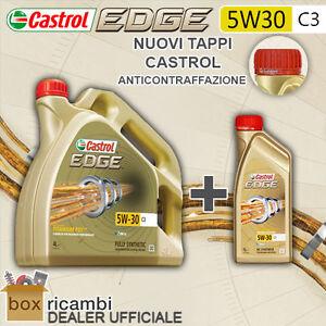 5-LITRI-OLIO-MOTORE-CASTROL-EDGE-FST-LL-5W-30-PACCO-5-LT-AUDI-VW-MERCEDES-MINI