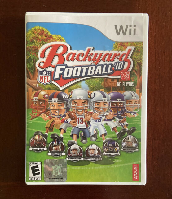 Backyard Football '10 (Nintendo Wii, 2009) | eBay