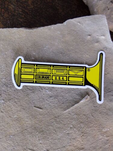 """3/"""" OURY bike ride race MTB Colorado Road Grip FREE SHIP bicycle STICKER DECAL"""