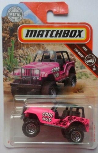 Matchbox 2019 MBX OFF-ROAD /'60 Jeep 4x4 76//100