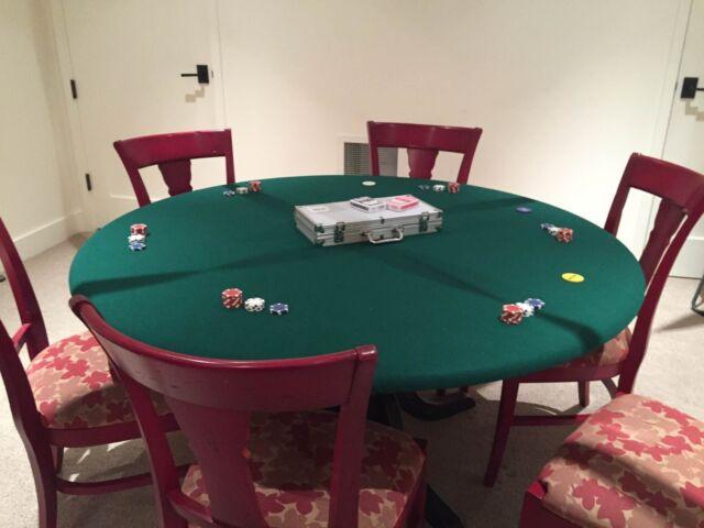 eBay & Poker Felt Table Cloth Bonnet Cover for 60\