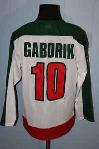 premium selection a8f5f 3054e Vintage The Bench Minnesota Wild Marian Gaborik Jersey L ...