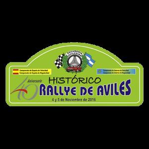 PEGATINA VINILO ADHESIVO COCHE PLACA RALLYE AVILES 2016 PR146 MOTOR