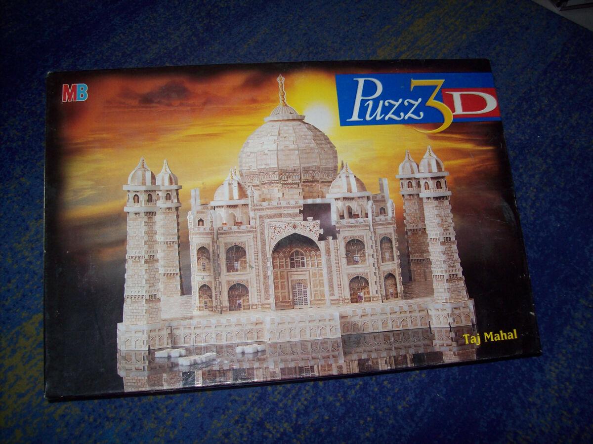 MB Puzz 3d-Taj Mahal - 3d Puzzle fissurer plus de 1000 pièces Le grand