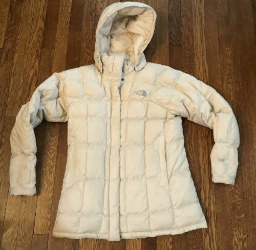 Women's The North Face Off White 600 Goose Down Ho