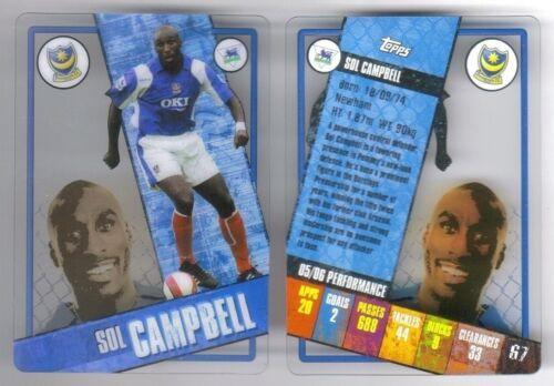 Topps I-Card 2006-07 Premier League Football Soccer Player Card Various