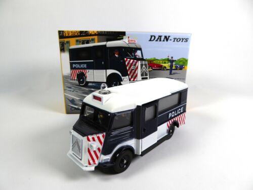 DINKY TOYS MODELLAUTO CAR DAN-106 Citroën HY Police Blinklicht 1:43 DAN TOYS