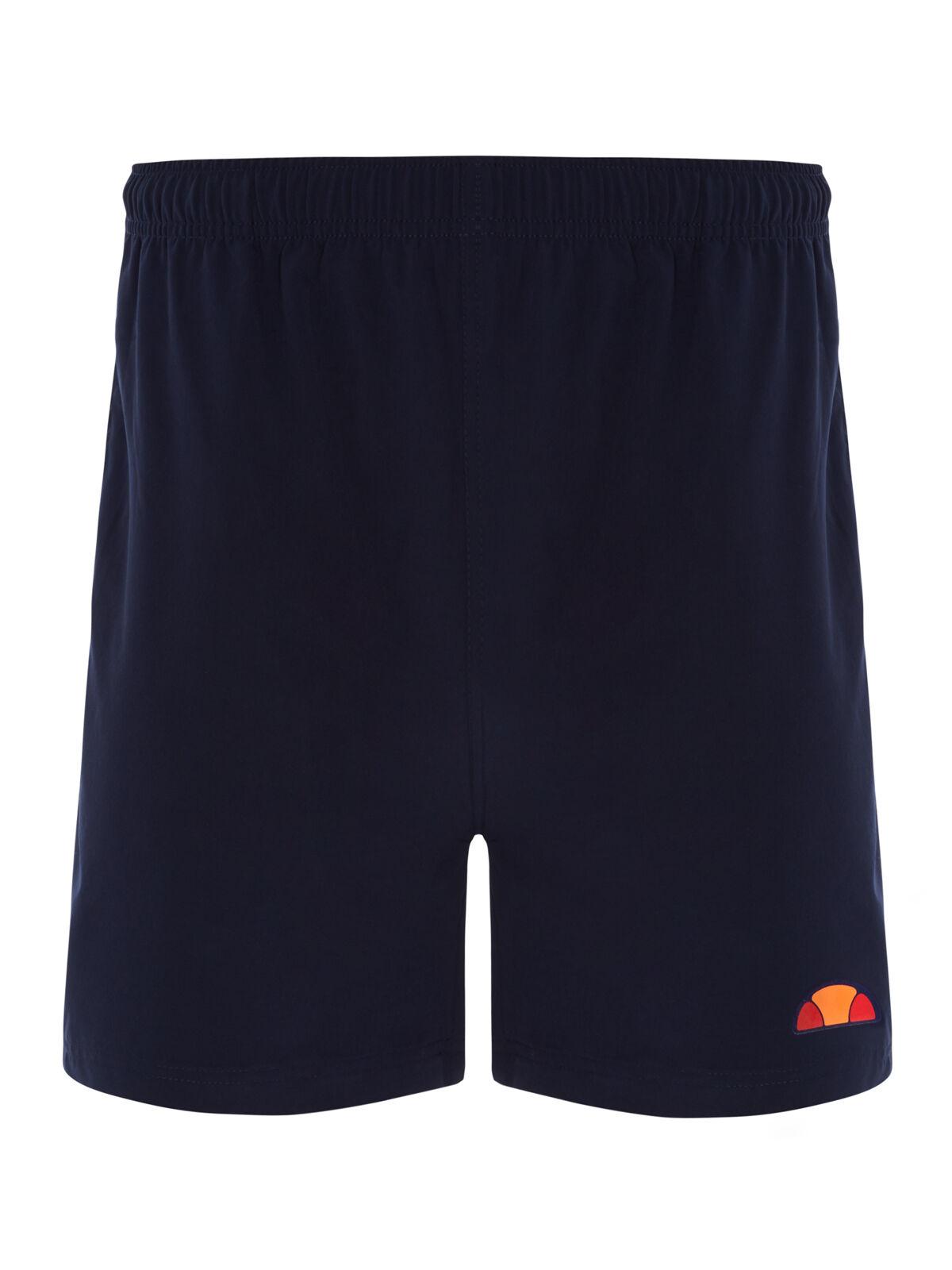 Ellesse Uomo FABRIZO Pantaloncini da tennis-confezione da due - 2 X blu scuro