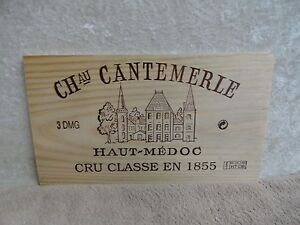 Bar Tools & Accessories 2006 Chateau Cantemerle Haut Medoc Wine Panel End