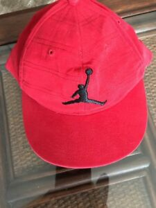 7edb035a46d NWT Nike Air Jordan Jumpman Hat Cap Youth Boys 8 20 Red Ecu