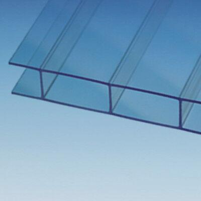 35,50€/m² Stegplatten Makrolon® multi UV 2 SDP 16-30 Doppelstegplatten 16 mm kla
