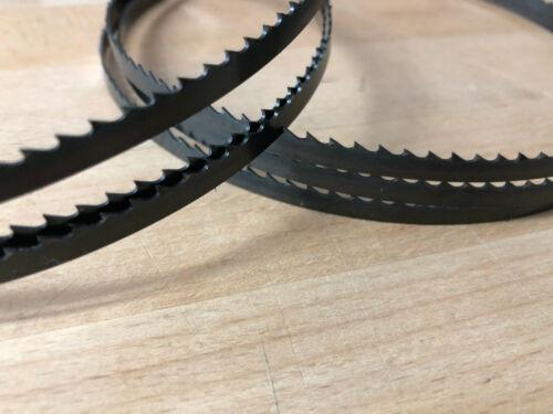 3x Bandsägeblätter Sägebänder 1575mm x 8mm x 0,65mm 6ZpZ
