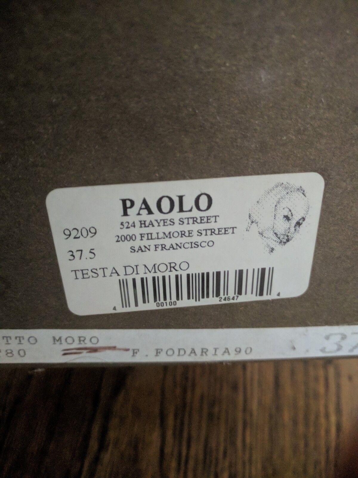 Paolo Iantorno Testa Size di Moro schuhes (Heels), Size Testa 37.5 Italia 576661