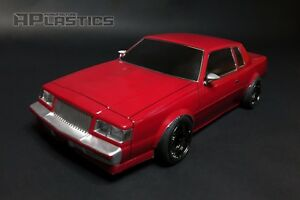 RC-Karosserie-Auto-Drift-Touring-1-10-Buick-Regal-Grand-National-87-aplastics-NEU-Schale