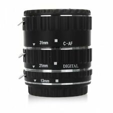 UK Store! CameraPlus® Macro Extension Tube Copper (13mm, 21mm, 31mm) For Canon