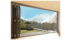 Details about Aluminium bifold doors - price includes glass  Delivered w/c  6th April