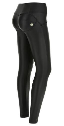Freddy WR.UP Jeans Skinny vita media eco-pelle WRUP1MC006 N0 Col Nero NEW