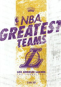 NBA-Greatest-Teams-Los-Angeles-Lakers-The-Three-Peat-NEW-DVD-Kobe-Bryant-SHAQ-LA