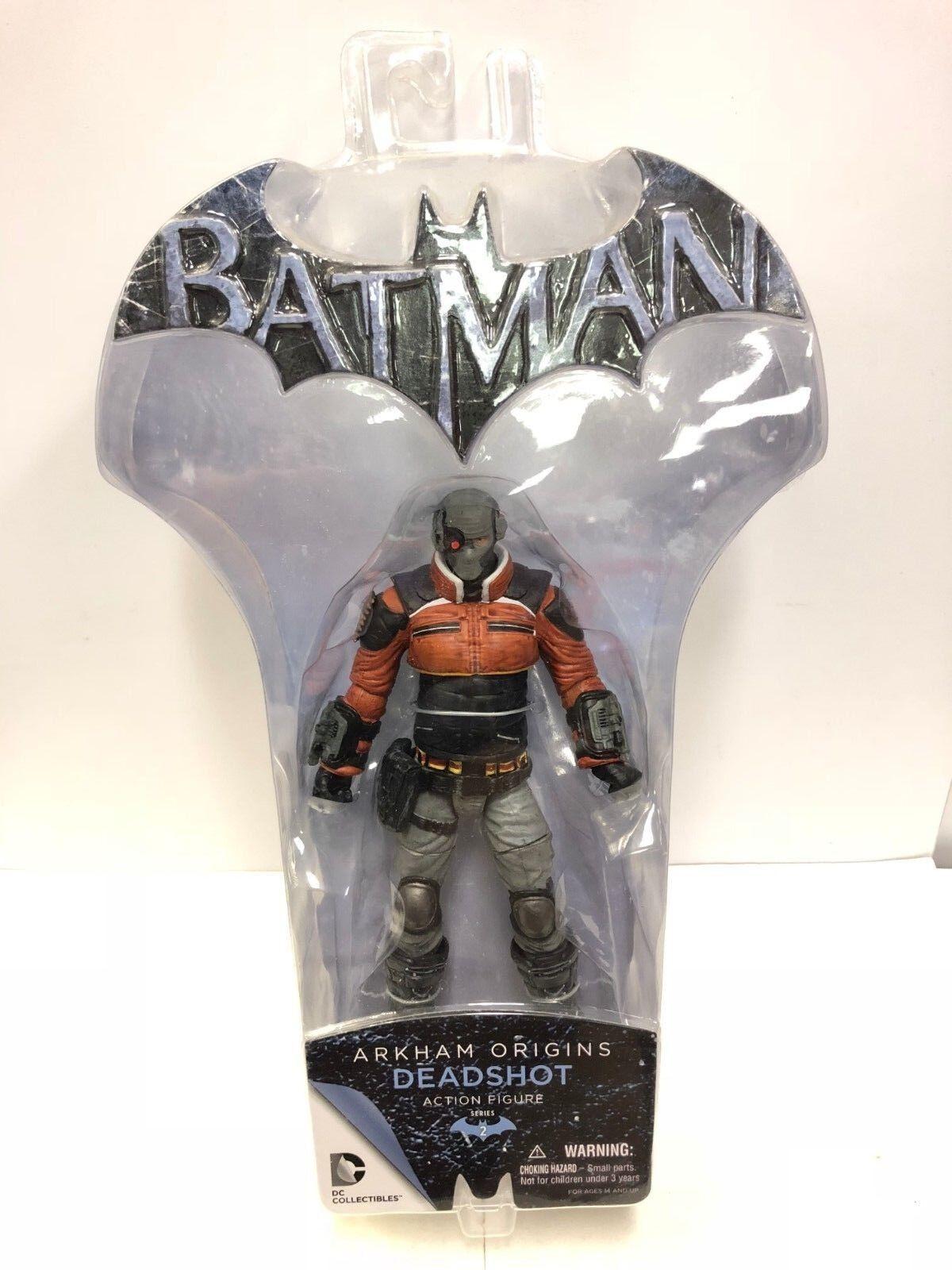 Batman Batman Batman Arkham Origins Series 2 Deadshot Figure DC Direct 2014 62e87d