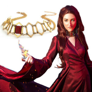 US-Game-of-Thrones-Melisandre-Choker-Necklace-Priestess-Choker-Cos-Jewelry-Gift