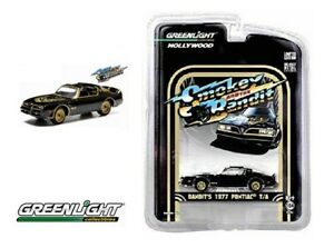 GREENLIGHT-1-64-Scale-Smokey-and-The-Bandit-1977-PONTIAC-T-A-Trans-Am-NEW