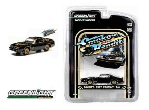 GREENLIGHT 1:64 Scale Smokey and The Bandit 1977 PONTIAC T/A Trans Am NEW