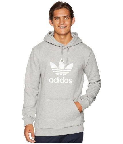Gris Adidas capuche Trefoil des années XL S Sweat pour Sweatshirt 90 M Heather à L hommes Lotus T1clJF3K