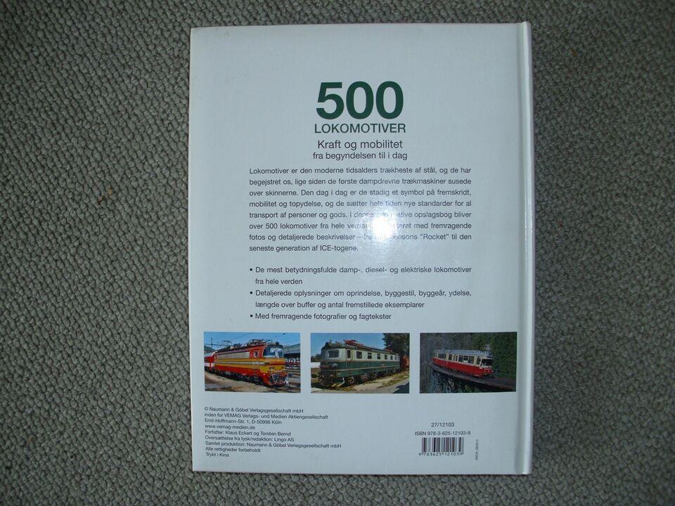 Modeltog, 500 Lokomotiver på 250 sider 1 til 1, skala 1 til 1