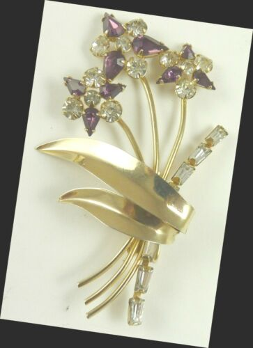 Vintage 1950s Jewelry Pendant or Pin Scitarelli Fl