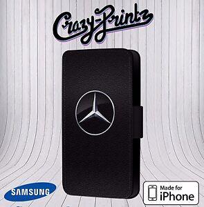 Mercedes-Benz-Inspire-Logo-pour-Iphone-amp-Samsung-Etui-Housse-Clapet-Cuir-T115