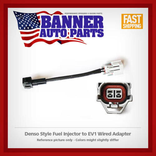 Fuel Injector wired adapter Denso to EV1 Style harness
