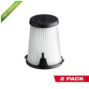 MiIwaukee 3 in Replacement Filters 2-PACK M12 0850-20 Compact Vacuum Genuine OEM
