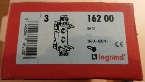 A l/'UNITE taille 00-160 A LEGRAND 16200 Socle pour cartouche à couteau