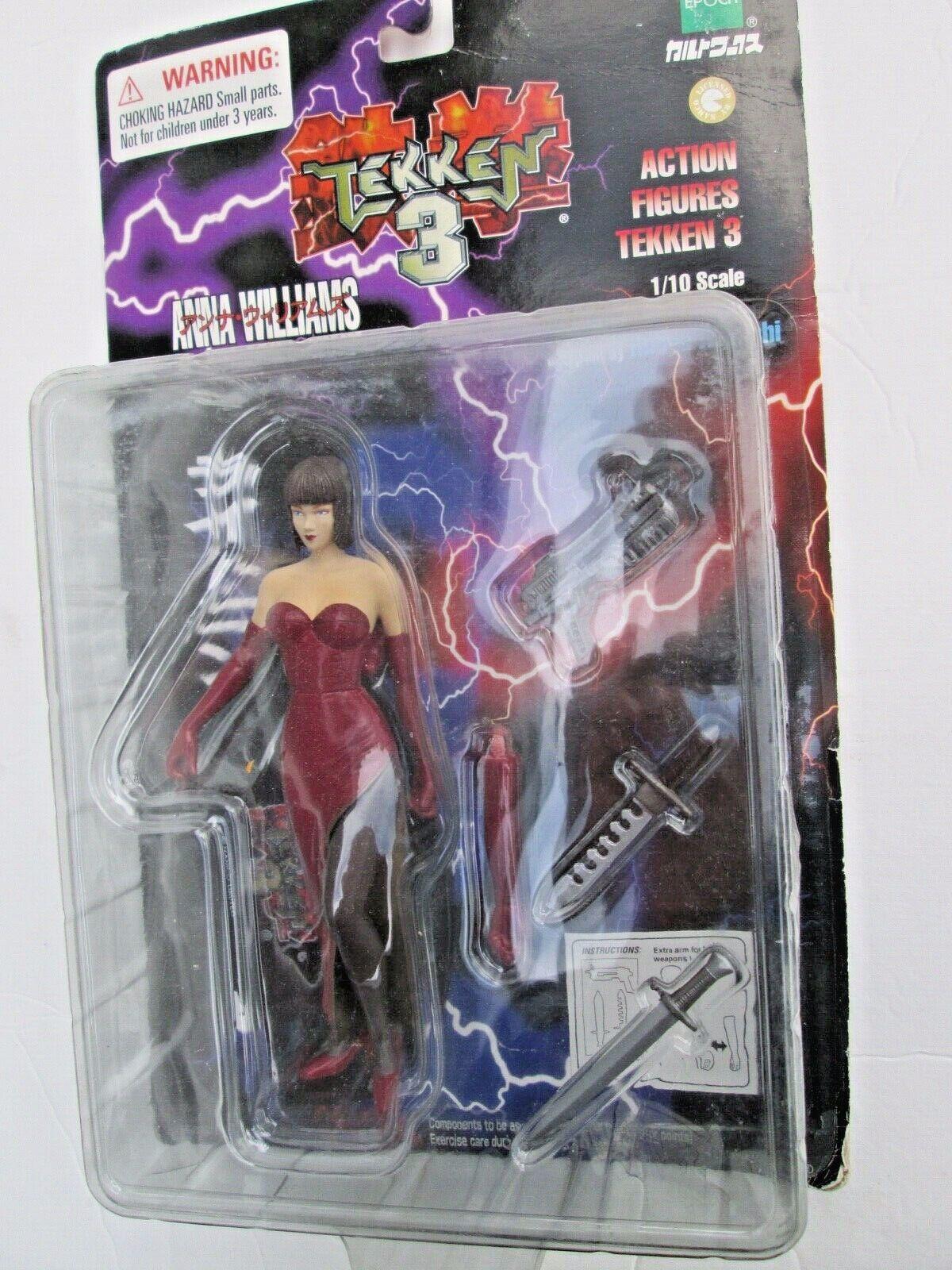 Epoch Toys Tekken 3 Anna Williams Action Figure Brand For Sale Online Ebay