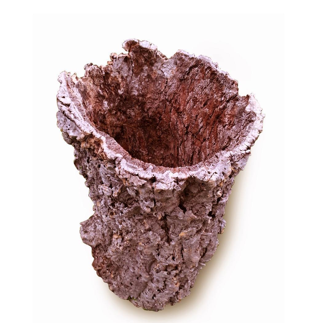 XXL-corcho-flores sobre olla maceta de alcornoque zierkork corcho sobre olla 45 cm