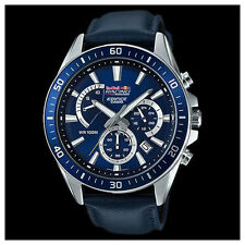 Edifice EFR552ARL-2A. Red Bull V8 Supercars LIMITED EDITION Mens Steel Watch.