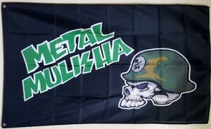 Metal Mulisha Banner 3x5 Ft Flag Garage Wall Decor Motorcycle Racing Motocross