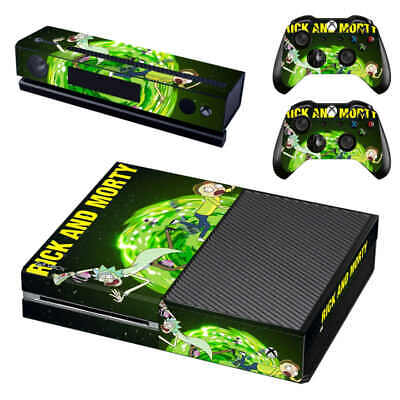 Cheap Sale Rick And Morty Xbox One Skin For Xbox One X Console And Controllers Strengthening Waist And Sinews