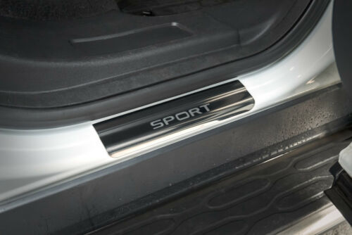 Land Rover Discovery Sport Stainless Sill Protectors Kick Plates ...