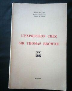 Albert-Favre-L-039-expression-chez-Sir-Thomas-Browne-Aubanel-1979