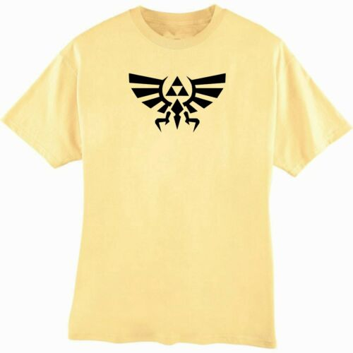 Hyrule Retro Video Game Tee Legend of Zelda Eagle and Triforce T-Shirt